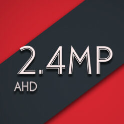 2.4MP DOME AHD